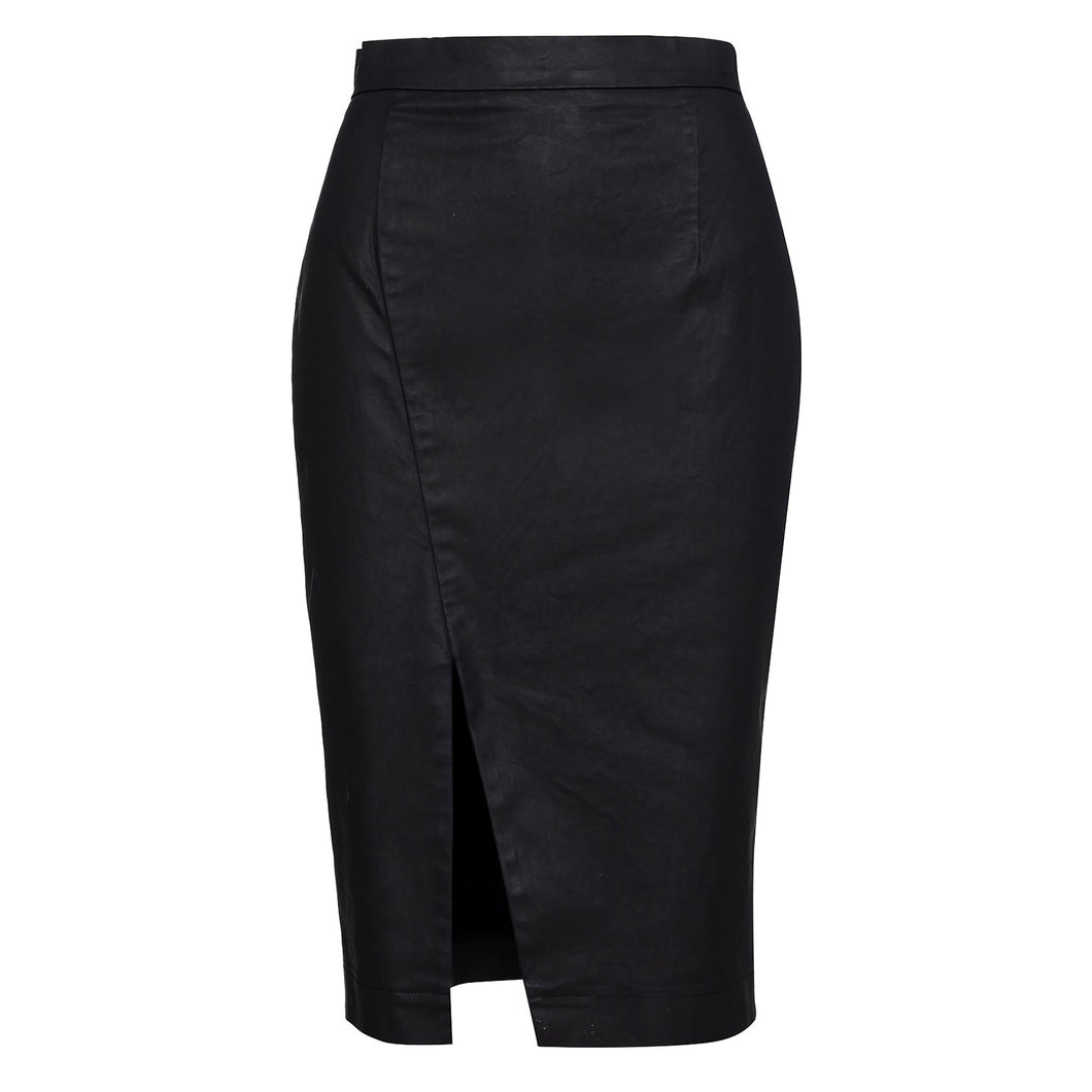 Black Pencil Skirt by Conquista Fashion