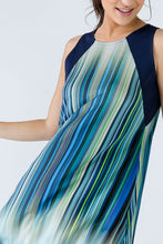 Load image into Gallery viewer, Navy Blue Striped Dress
