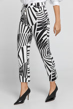 Load image into Gallery viewer, Black & White Gabardine Pants