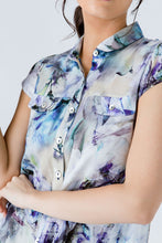 Load image into Gallery viewer, Floral Cap Sleeve Shirt