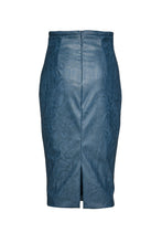 Load image into Gallery viewer, Faux Leather High Waist Pencil Skirt
