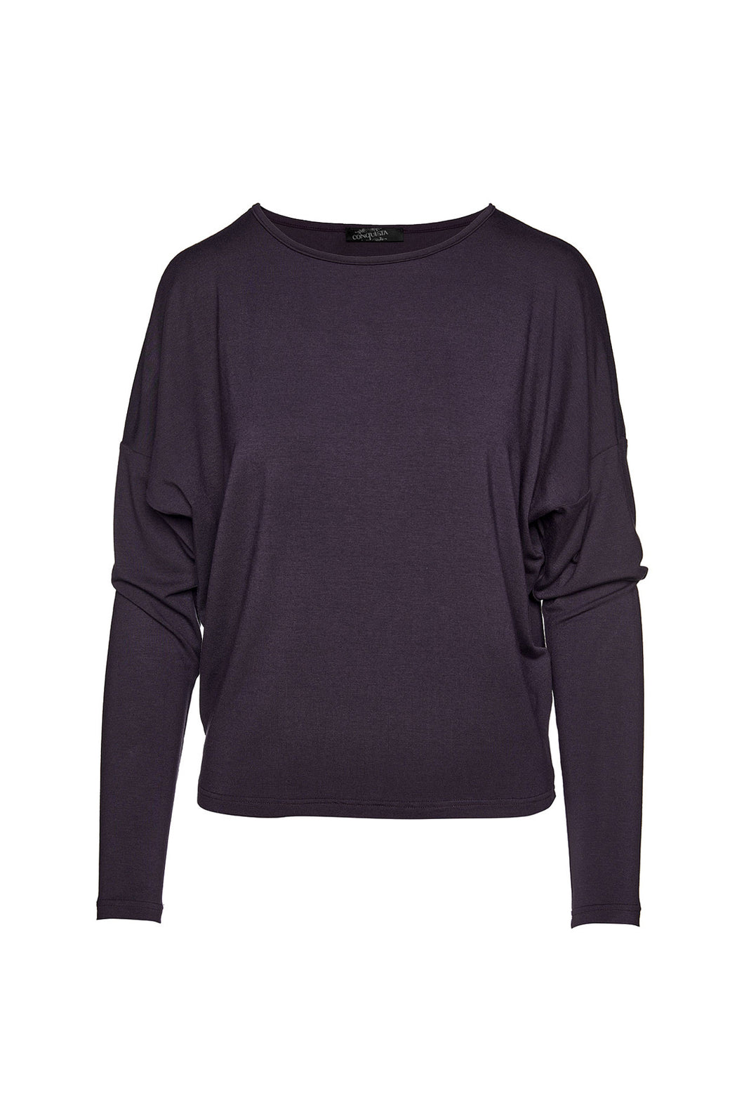 Ink Colour Micromodal Batwing Top