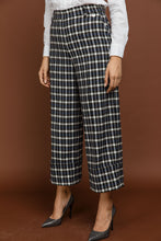 Load image into Gallery viewer, Blue Check Culottes by Si Fashion