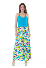 Load image into Gallery viewer, Halter Neck Maxi Dress