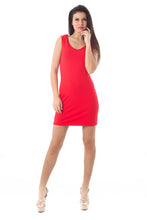 Load image into Gallery viewer, Sleeveless Drape Back Dress 2young