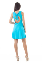 Load image into Gallery viewer, Bow Detail Skater Dress