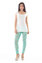 Load image into Gallery viewer, Lace Leggings Light Green