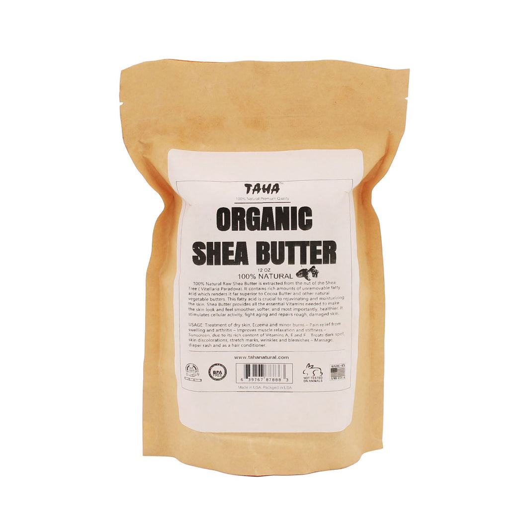 100% Natural Shea Butter [BAG] 12oz (30ct)