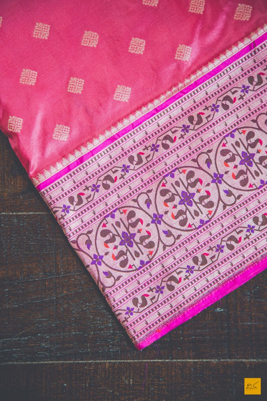 This is a gorgeous Banarasi Katan Silk Handwoven Saree with a exceptional classic bootidar design crafted in the finest weave style with the meenakari Paithani. New trend of Banarasi Saree designs, Banarasi Saree for artists, art lovers, architects, saree lovers, Saree connoisseurs, musicians, dancers, doctors, Banarasi silk saree, indian saree images, latest sarees with price, only saree images, new Banarasi saree design.