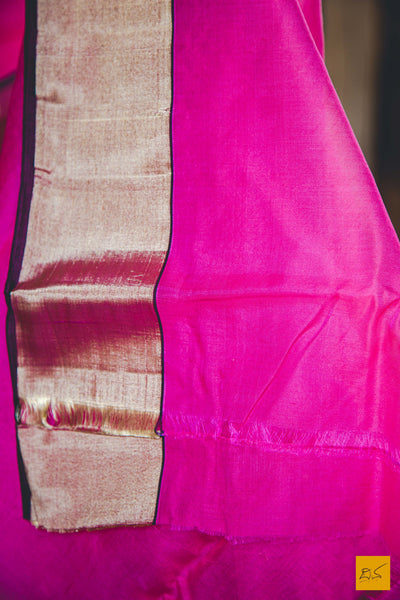 This is a gorgeous cotton chanderi handwoven saree in pink and with meenakari jaal pallu.  New trend of chanderi pure silk saree designs, chanderi pure Silk saree for artists, art lovers, architects, saree lovers, saree connoisseurs, musicians, dancers, doctors, chanderi pure Silk saree, indian saree images, latest sarees with price, only saree images, new chanderi pure silk saree design.