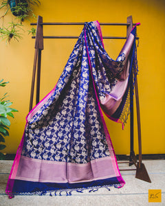 Look intoxicating in this banarasi silk georgette dupatta, Formal, indian wedding, Statement piece