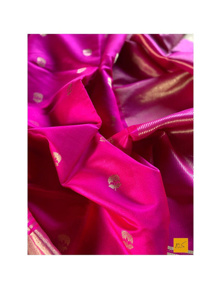 PINK chanderi silk handwoven saree for cocktail party, informal , formal, latest design 2020, sarees designs, new trend sarees, indian sarees