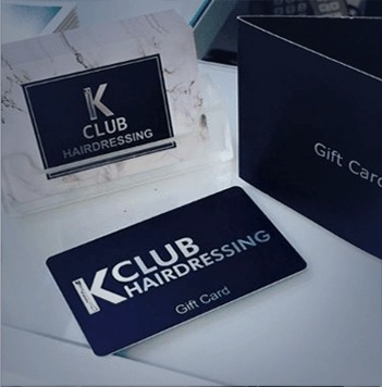 KClub Hairdressing Gift Card
