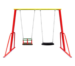 Combo Swing Set (Red)