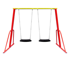 Double Swing Set (Red)