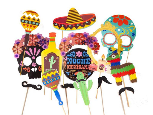 Props Noche Mexicana X 15 - Airy - Carnaval Online