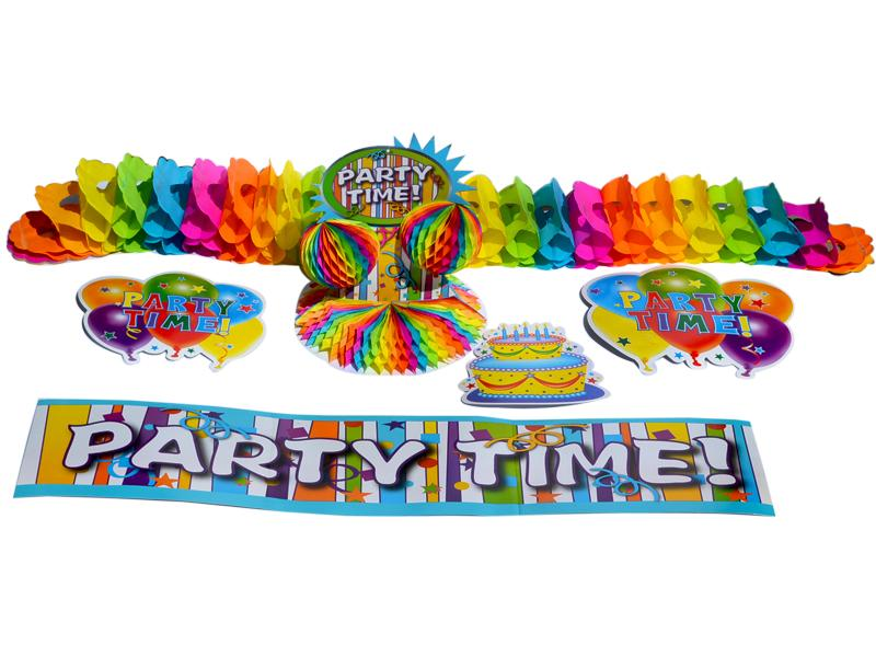 Decoracion Puerta Party Time - Nick - Carnaval Online