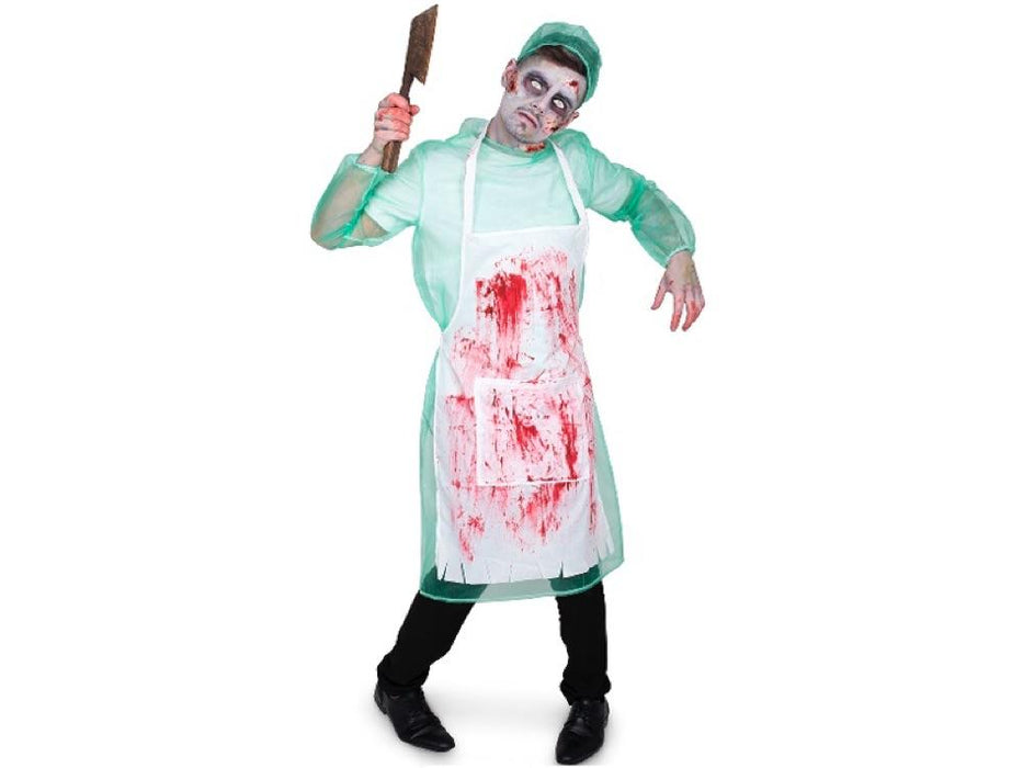 Disfraz Forense Zombie Hombre S - Airy - Carnaval Online