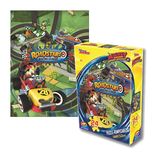 Puzzle 24 Piezas Mickey Roadsters - Toyng - Carnaval Online