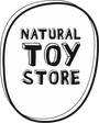 Natural toy store baby teether in natural rubber