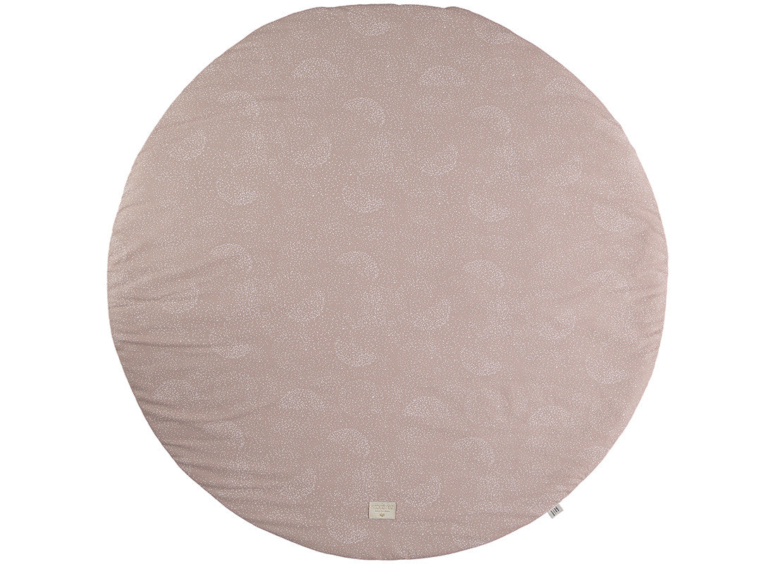 Full Moon Playmat - White Bubble Misty Pink