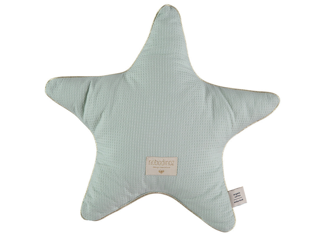 Aristotle Star Cushion - Acqua