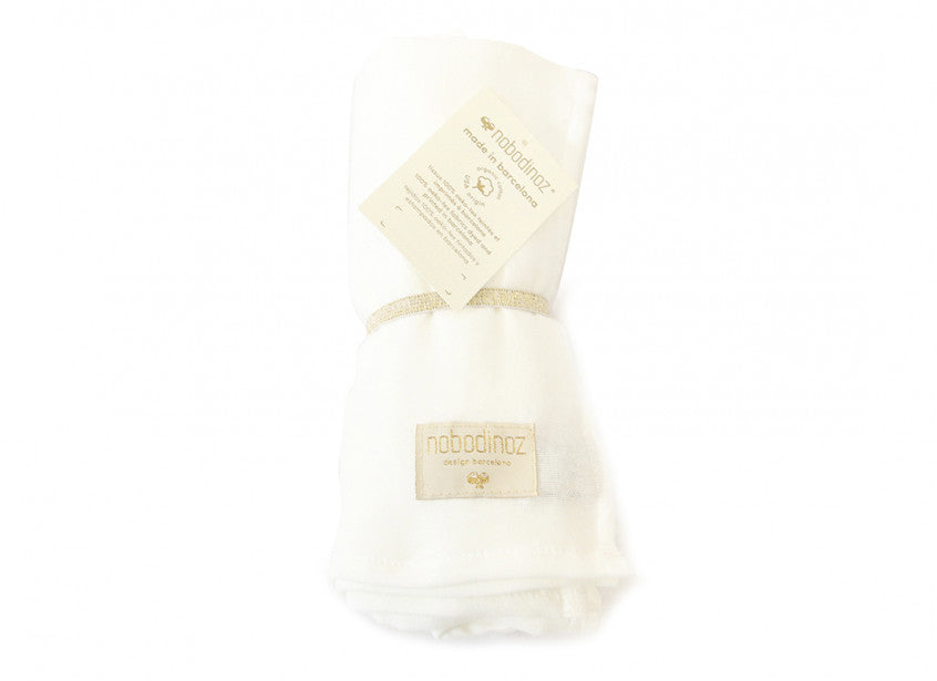 Butterfly Swaddle - White