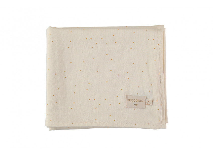Butterfly Swaddle - Honey Sweet Dots Natural