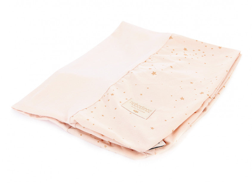 Calma Changing Mat Cover - Gold Stella Dream Pink