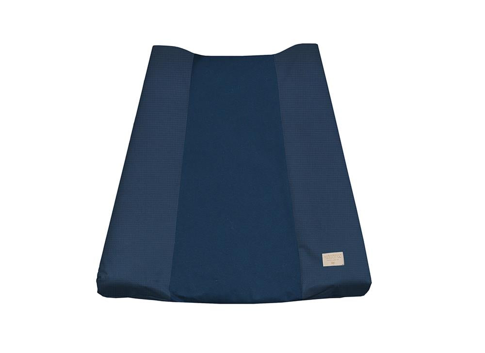 Calma Changing Mat Cover - Honeycomb Night Blue