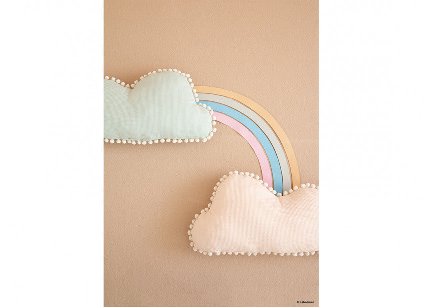 Marshmallow Cloud Cushion - Dream Pink