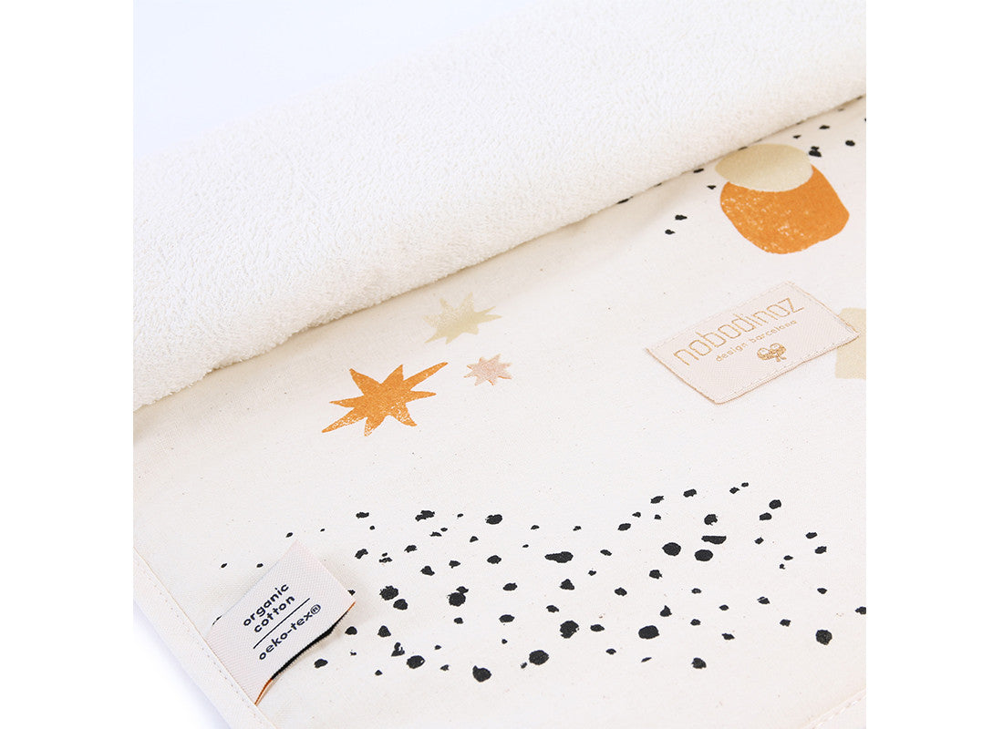 Nomad Changing Pad - Sunset Eclipse Natural
