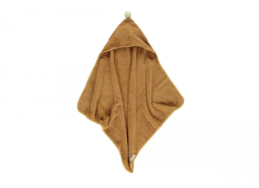 So Cute Baby Bath Cape - Caramel