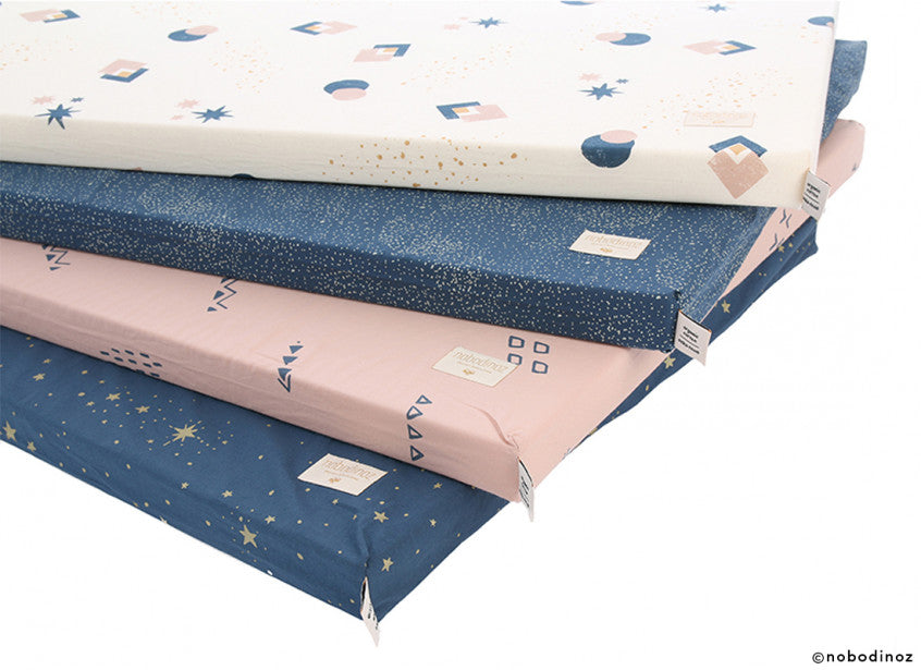 St Barth Mattress - Gold Stella / Night Blue