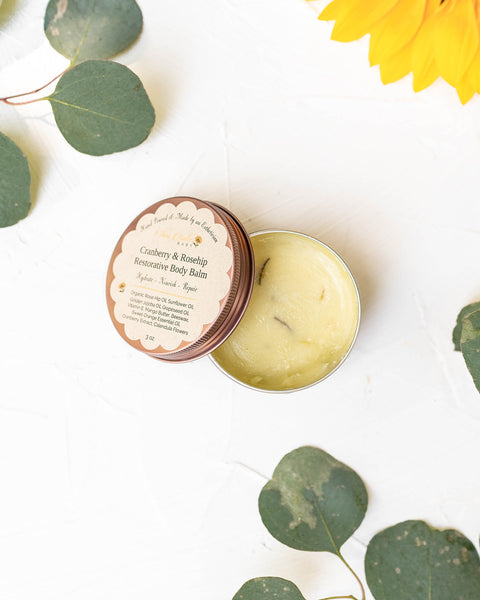 Cranberry and Rosehip Restorative Body Balm