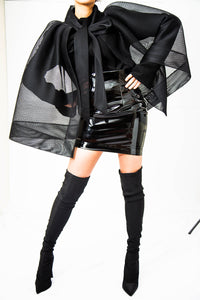 ICON skirt liquid black
