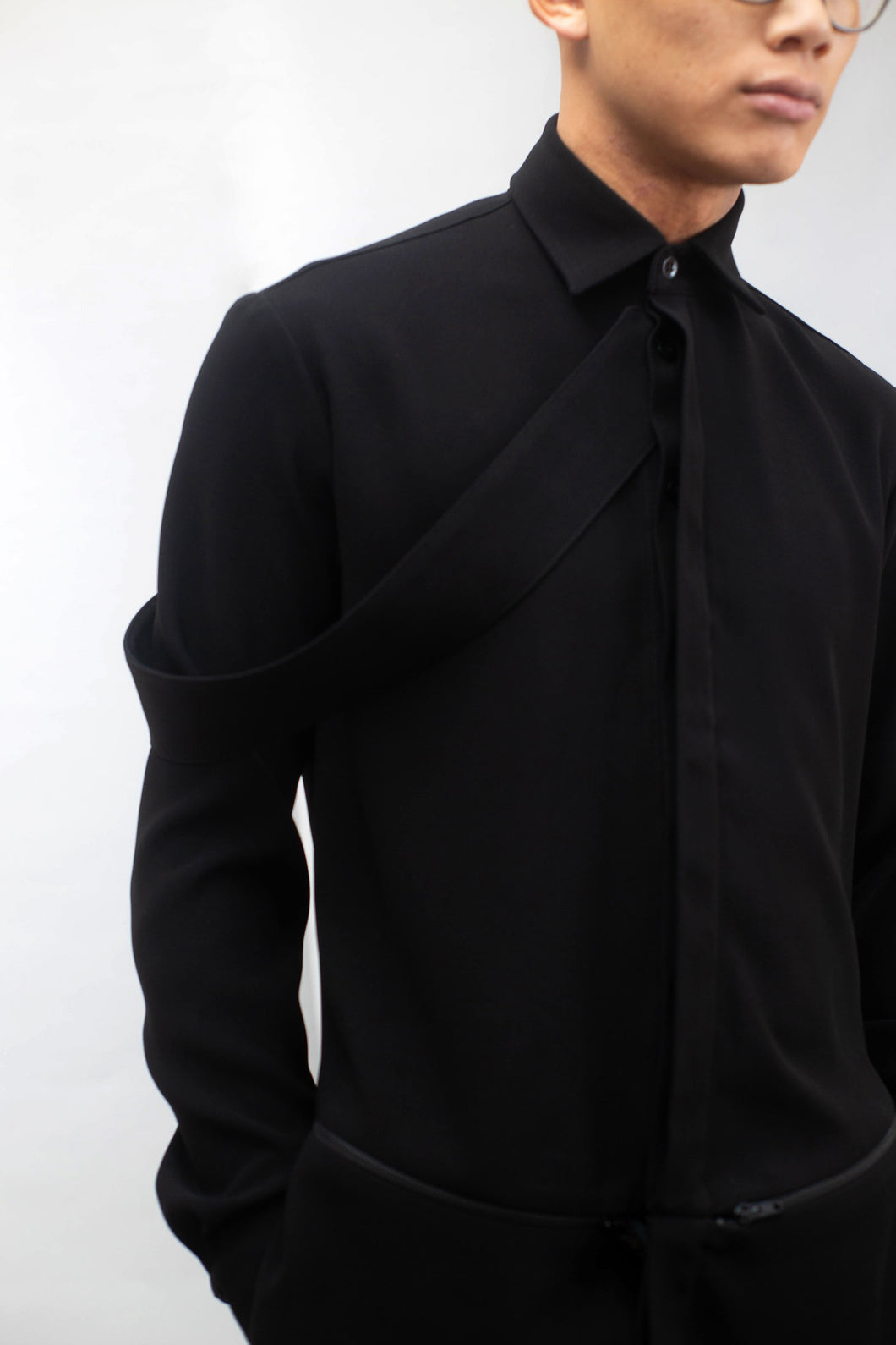 VIP blouse black