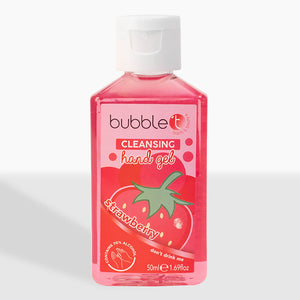 Strawberry Anti-Bacterial Cleansing Hand Gel (70% Alcohol)