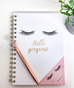 Hello Gorgeous A6 Spiral Notebook