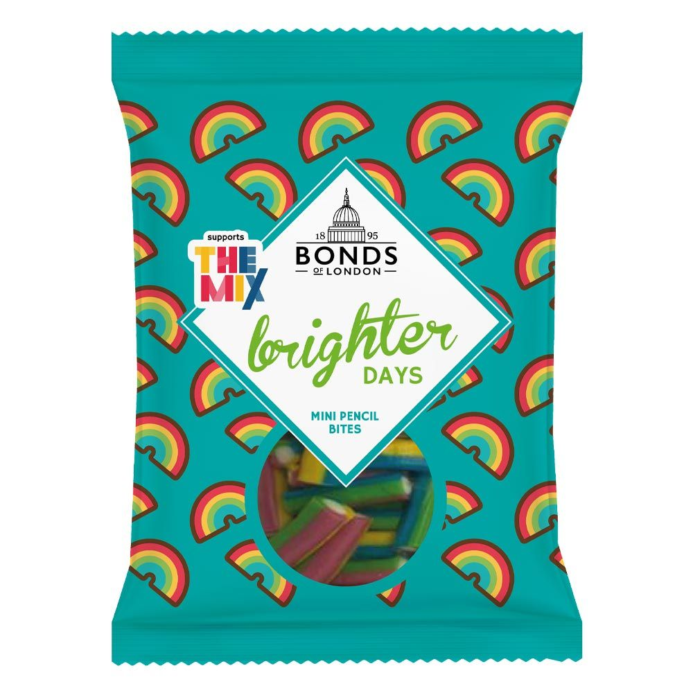 Brighter Days Mini Pencil Bites Share Bags 140g