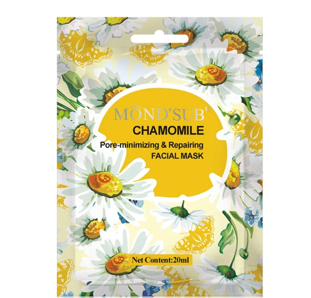 Mond'Sub Chamomile Sheet Face Mask