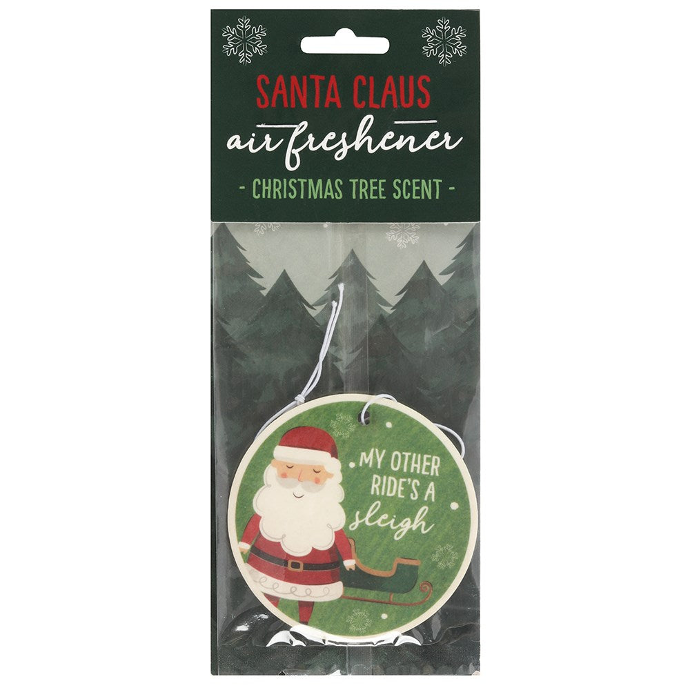 Santa Christmas Tree Scented Air Freshener