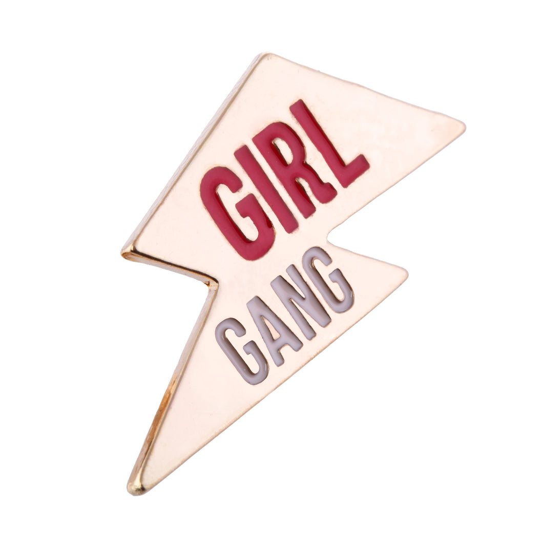 Girl Gang Pin Badge