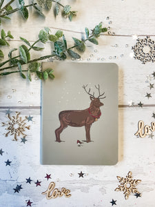 Christmas Stag Notebook 1
