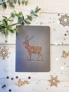 Christmas Stag Notebook 4