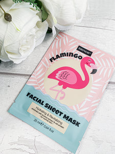 Flamingo Face Mask