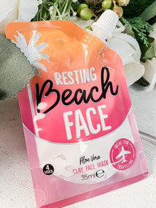 Resting Beach Face Clay Mask