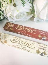 Load image into Gallery viewer, Divine Chocolate Bar White 35G