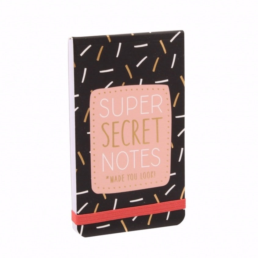Super Secret Notes Notepad