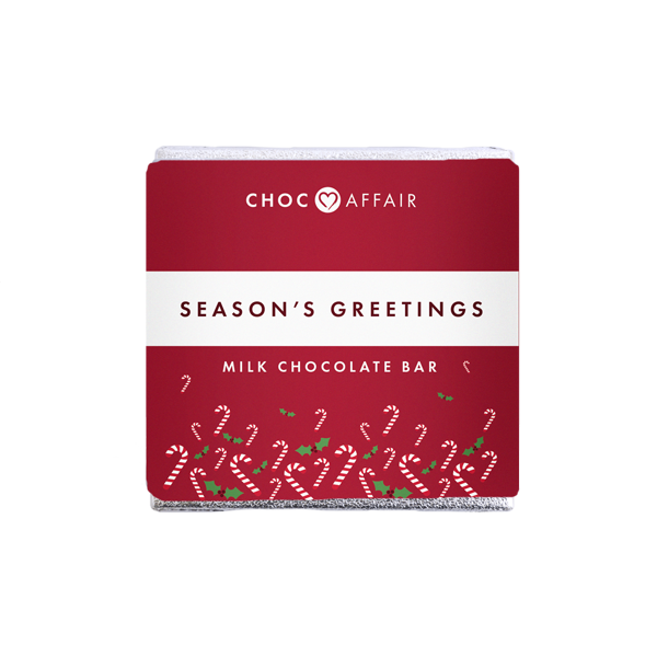 Season's Greetings Milk Chocolate Bar